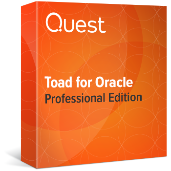 Toad for Oracle PROFESSIONAL Edition